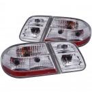 Anzo 221163 - Tail Lights - G2 - Chrome (w/o LED)