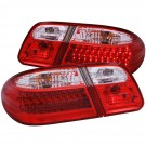 Anzo 321114 - LED Tail Lights - LED - Red/Clear G2