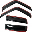 Auto Ventshade 194550 - In-Channel Ventvisor Deflectors, 4PC (Smoke)