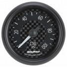 "Auto Meter 8021 - 2-1/16"" Oil Press 0-100 PSI Fsm Gt Series"