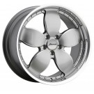 Bravado Fr0N514406 - Freedom 20X9.5 5X114.3 Et40 Silver Ball Milled/Machine Lip Rims