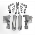 "Corsa 14464 - 2.75"" Dia. Cat-back Exhaust System. Dual Rear Exit w/ Single 4.5"" Pro-Series Tips"