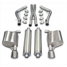 "Corsa 14537 - 2.5"" Dia. Cat-back Exhaust System. Dual Rear Exit w/ Twin 4.5"" Pro-Series Tips"