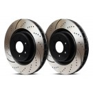 EBC Brakes GD7475 - EBC 3GD Series Dimpled and slotted sport rotors