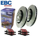 EBC Brakes S1KF1162 - Stage 1 Premium Street Brake Kit - Incl. Rotors And Pads - Front