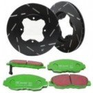 EBC Brakes S2KR1874 - Stage 2 Sport Brake Kit - Incl. Rotors And Pads - Rear
