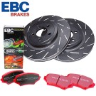 EBC Brakes S4KF1352 - Stage 4 Signature Brake Kit - Incl. Rotors And Pads - Front