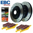 EBC Brakes S5KF1444 - Stage 5 Superstreet Brake Kit - Incl. Rotors And Pads - Front