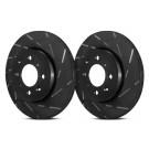 EBC Brakes USR7476 - EBC USR Series sport slotted rotors