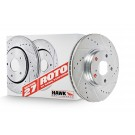 Hawk Performance HR4231 - Sector 27 Rotor - Front