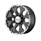 Helo HE87879088412N - HE878 - Dark Silver with Machined Flange (8x180 / 8x180)