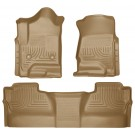Husky Liners 98233 - Weatherbeater Series - Front & 2nd Seat Floor Liners