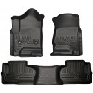 Husky Liners 98241 - Weatherbeater Series - Front & 2nd Seat Floor Liners