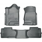 Husky Liners 98242 - Weatherbeater Series - Front & 2nd Seat Floor Liners