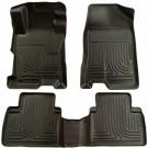 Husky Liners 98531 - WeatherBeater Floor Liners, Front & 2Nd Seat Floor Liners (Black)