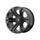 KMC XD Series XD77829035718 - Monster - Matte Black (5x127/5x139.7 / 5X5.0/5.5)