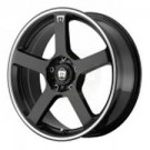 Motegi MR11688001345 - MR116 - Gloss Black (5x108/5x114.3 / 5X4.25/4.5)