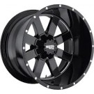 Moto Metal MO96281035324N - MO962 - Gloss Black with Milled Accents (5x127/5x139.7 / 5X5.0/5.5)
