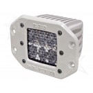 Rigid Industries 71251 - M-Series - Flush Mount - D2 - 60 Deg. Lens - Set of 2