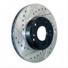 StopTech 127.44161L - Slotted & Drilled Rotor