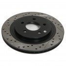 StopTech 127.33064L - Slotted & Drilled Rotor