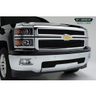 T-Rex 21120B - Billet Grille Overlay/Bolt On - 2 pc.. All Black