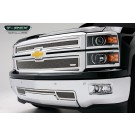T-Rex 54117 - Upper Class Polished Stainless Main Grille - 2 pc. Style