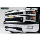 T-Rex 6711171 - X-METAL Series - Studded Main Grille - ALL Black - 2 pc. Style