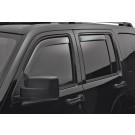 WeatherTech 82740 - Side Window Deflector - Front/Rear - Dark Smoke