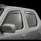 WeatherTech 70481 - Side Window Deflector - Front - Light Smoke
