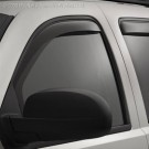 WeatherTech 81704 - Side Window Deflector - Rear - Dark Smoke