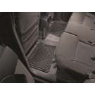 WeatherTech W20 - All-Weather Floor Mats - Rear Rubber Mats - Black