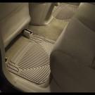 WeatherTech W50TN - All-Weather Floor Mats - Rear Rubber Mats - Tan