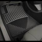 WeatherTech W36 - All-Weather Floor Mats - Front Rubber Mats - Black