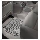 WeatherTech W50GR - All-Weather Floor Mats - Rear Rubber Mats - Grey