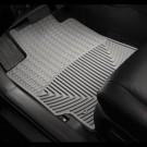 WeatherTech W3GR - All-Weather Floor Mats - Front Rubber Mats - Grey