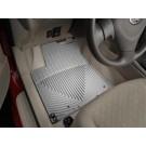 WeatherTech W96GR - All-Weather Floor Mats - Front Rubber Mats - Grey
