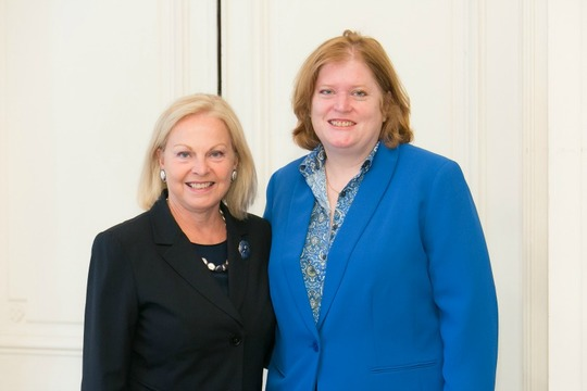 Ambassador Laurie Fulton and Assistant Secretary Anne Richard