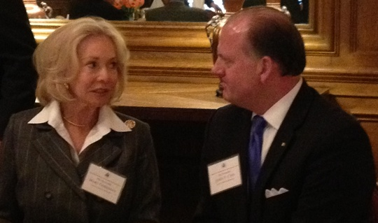 Ambassadors Mary M. Ourisman and James P. Cain