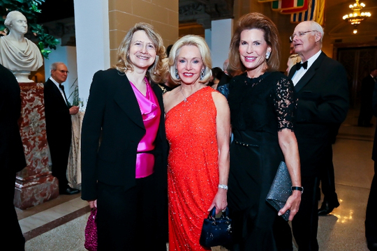 30th Anniversary Gala: Laura Denise Noce Benigni Olivieri, Ambassador Mary M. Ourisman and Ambassador Nancy G. Brinker. Photo credit Tony Powell