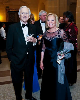 30th Anniversary Gala: Ambassadors Andrew Peacock and Laurie S. Fulton. Photo credit Tony Powell