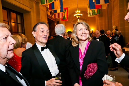 30th Anniversary Gala: The Ambassador of Italy H.E. Claudio Bisogniero and Laura Denise Noce Benigni Olivieri. Photo credit Tony Powell