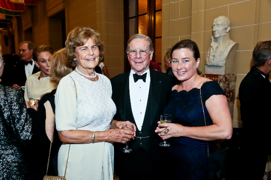 30th Anniversary Gala: Lillan Stuart, Ambassador Timothy L. Towell and DaneTowell. Photo credit Tony Powell