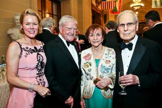 30th Anniversary Gala: Rhonda Wilkins, Ambassador C. Howard Wilkins, Jr., Dr. Marilyn Dornbush and Ambassador K. Terry Dornbush. Photo credit Tony Powell