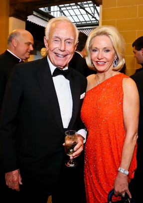 30th Anniversary Gala: Mandell Ourisman and Ambassador Mary M. Ourisman. Photo credit Tony Powell