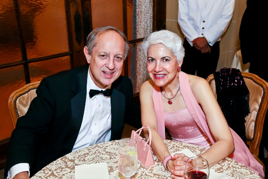30th Anniversary Gala: Ambasasdor Lino Gutierrez and Miriam Gutierrez . Photo credit Tony Powell