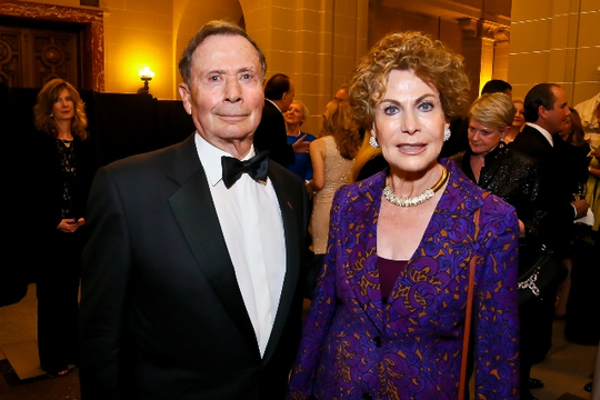 30th Anniversary Gala: Ambassador John Price and Marcia Price. Photo credit Tony Powell