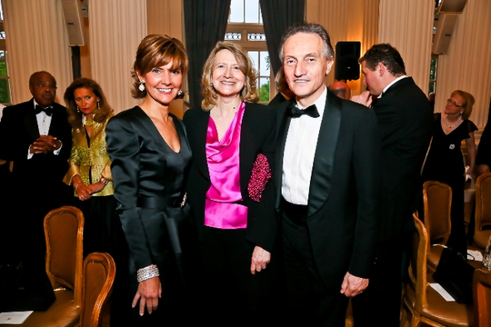 30th Anniversary Gala: Chief of Protocol Ambassador Capricia P. Marshall, Laura Denise Noce Benigni Olivieri and H.E. Claudio Bisogniero. Photo credit Tony Powell