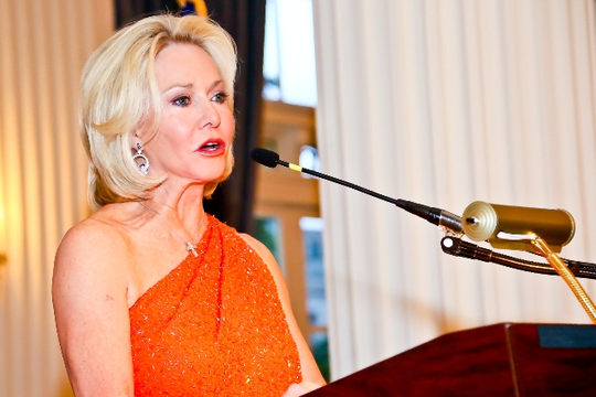 30th Anniversary Gala: Gala Chair Ambassador Mary M. Ourisman. Photo credit Tony Powell