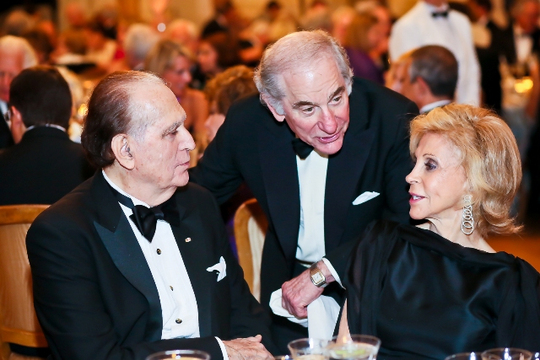 30th Anniversary Gala: Ambassador John L. Loeb, Jr., Ambassador Sam Fox and Wilma Bernstein. Photo credit Tony Powell